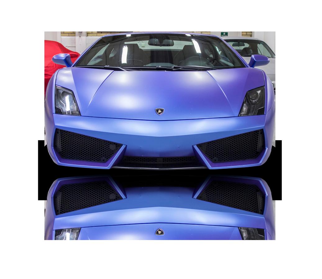 Autoident_lambo_front_fordonsdekor_carwrap